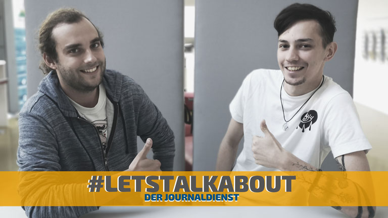 23.10.2019 | #letstalkabout - der Journaldienst