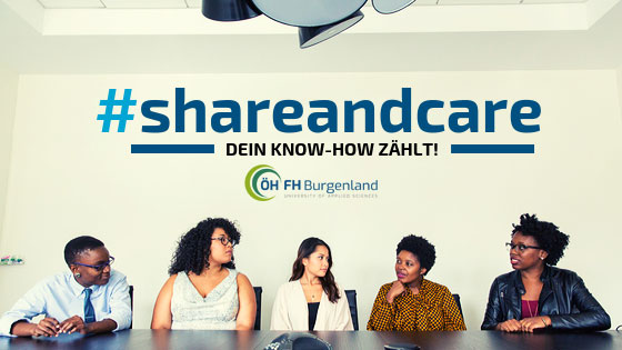 #shareandcare - dein Know-How zählt!